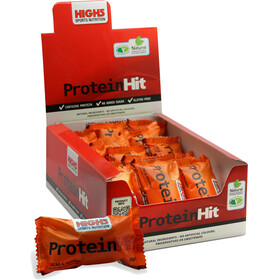High5 ProteinHit - Nutrición deportiva - Chocolate-Orange 15 x 50g naranja/negro